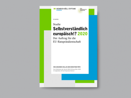 Selbstverständlich Europäisch!? <span style='color:#73C900'>2020</span> Titlebild