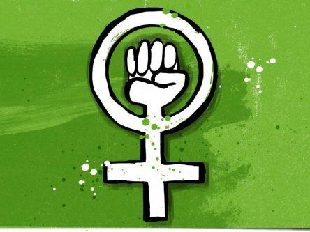 Demokratie braucht Feminismus! Antifeminismus online entgegentreten Titlebild
