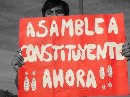 Online-Fotovortrag: Die gegenwärtige Protestbewegung in Chile Titlebild