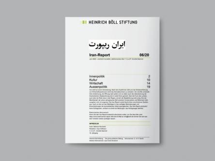 Iran-Report 06/20 Titlebild