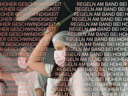 Regeln am Band, bei hoher Geschwindigkeit Titlebild